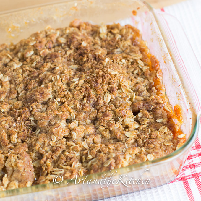 Apple Crisp with Oat Topping Recipe - m 90