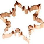 copper snowflake cookie cutter