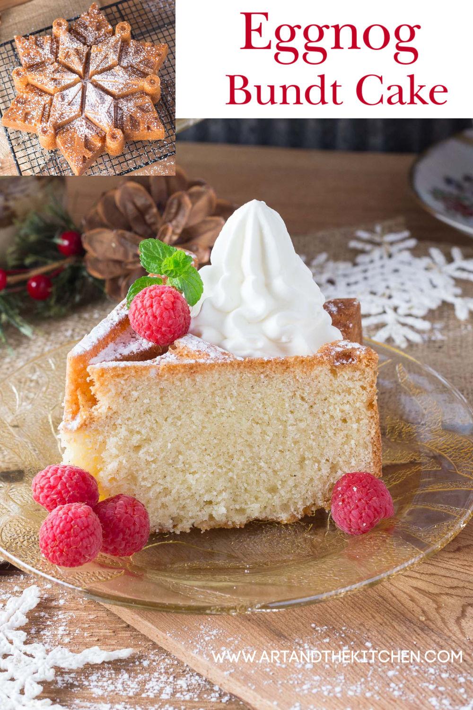 Eggnog Bundt Cake via @artandthekitch