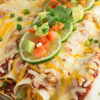 Chicken Enchiladas