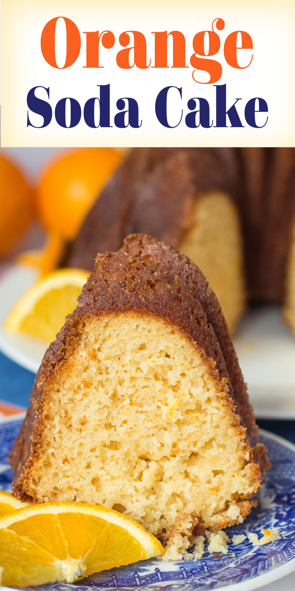 This recipe for Orange Soda Cake is a terrific, quick and easy recipe. An ultra moist cake with zesty orange flavour! via @artandthekitch