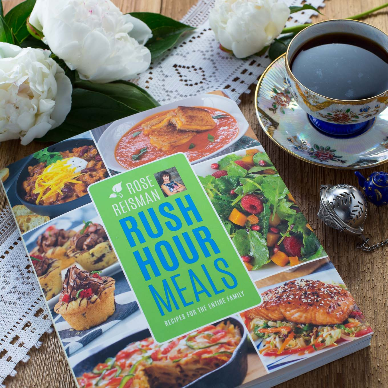 Rose Reisman cookbook Rush Hour Meals