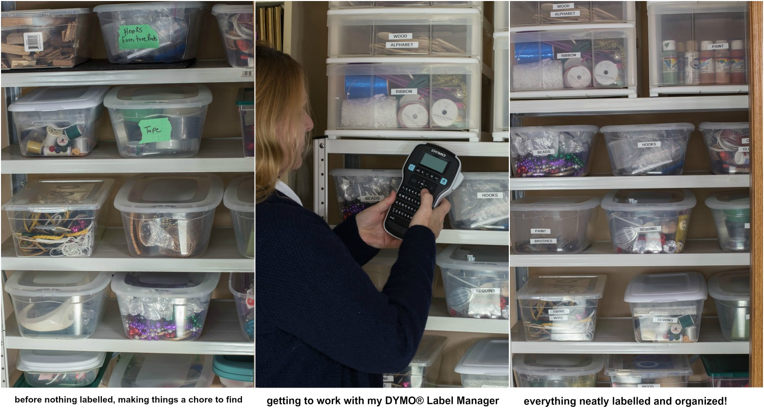 DYMO Label Maker craft room