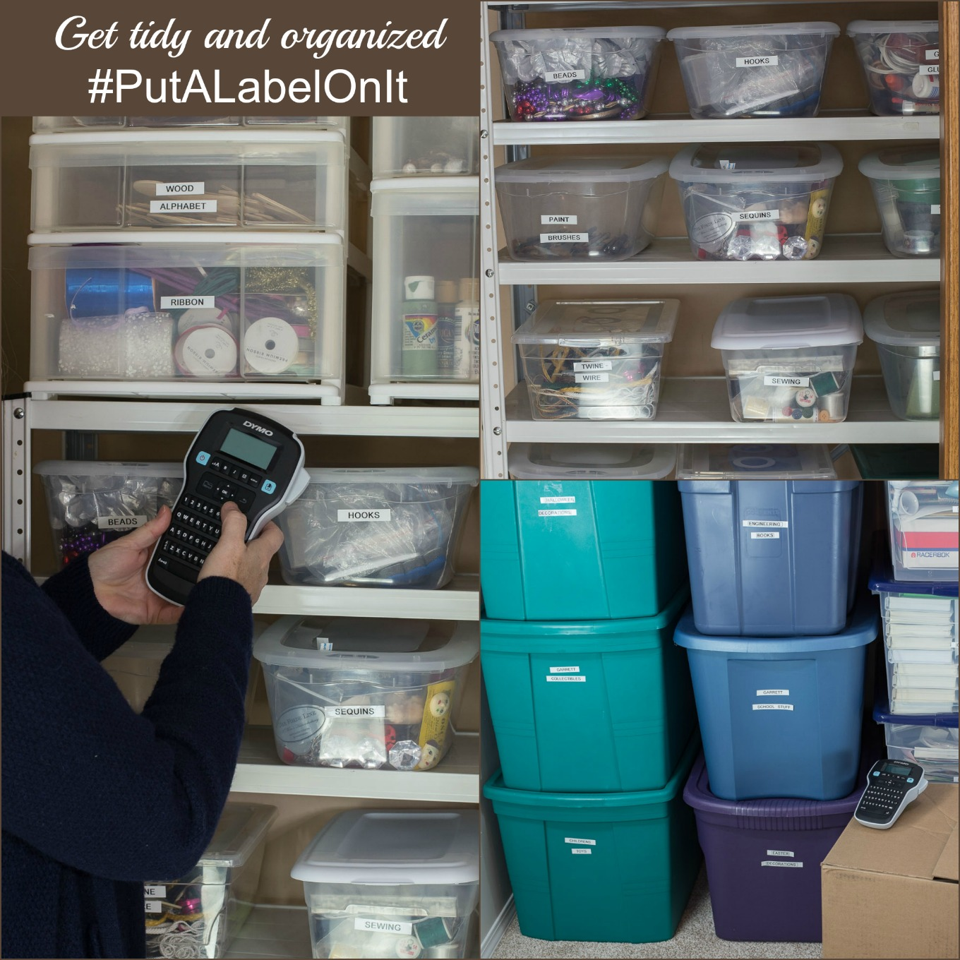 Get organized with DYMO® LabelManager™