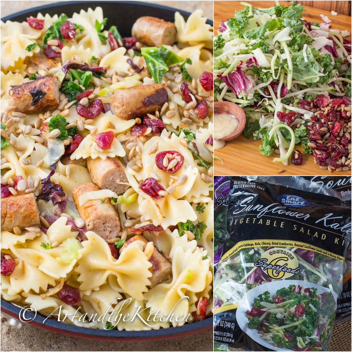 turkey sausage veggie pasta