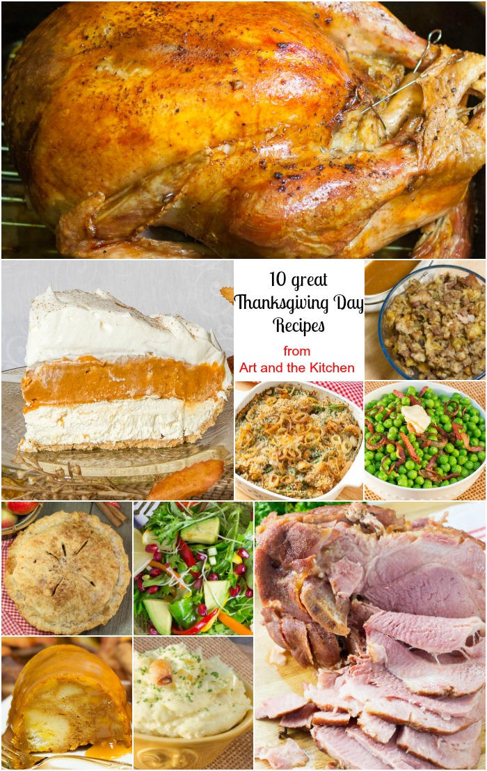 10 Great Thanksgiving Day Recipes are a collection of my favourite festive recipes. I been making these family favourites, tried and true recipes for years. #ThanksgivingRecipes #HolidayRecipes