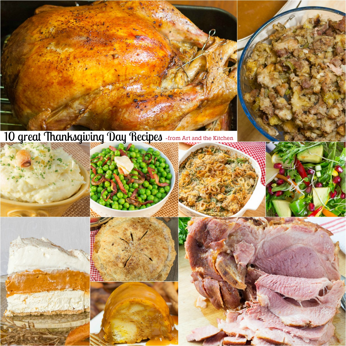 10 great Thanksgiving Day Recipes