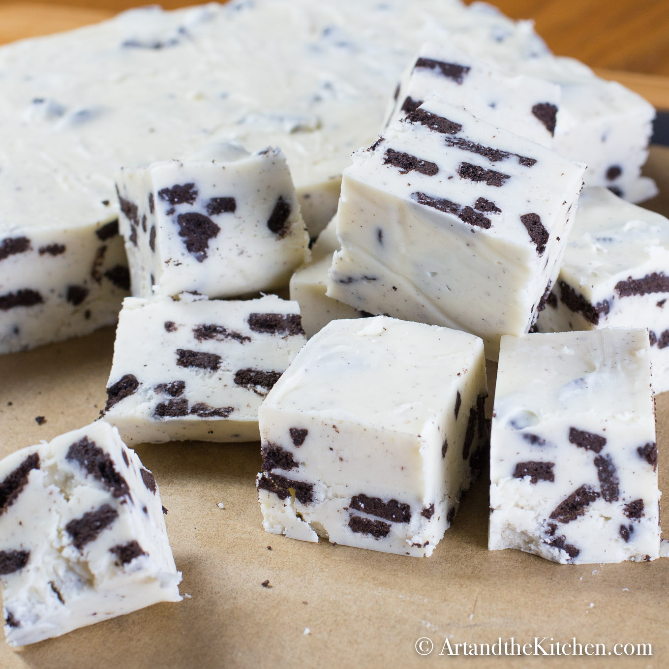 Chocolate Cookes N Cream Dunmore Candy Kitchen: Cookies And Cream Fudge
