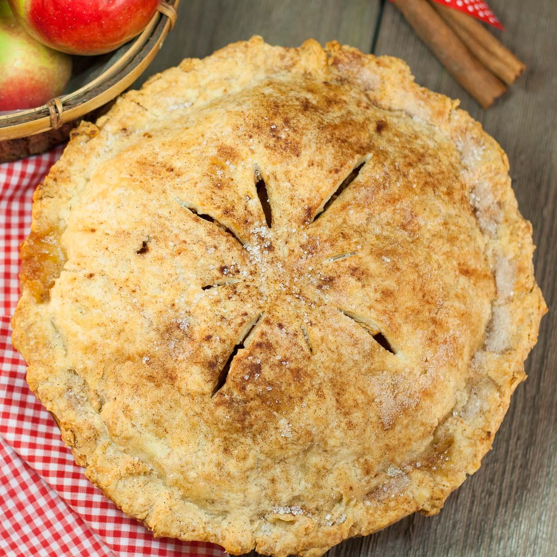 Grandma's Old Fashioned Apple Pie