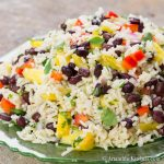 Black Bean Coconut Rice Salad