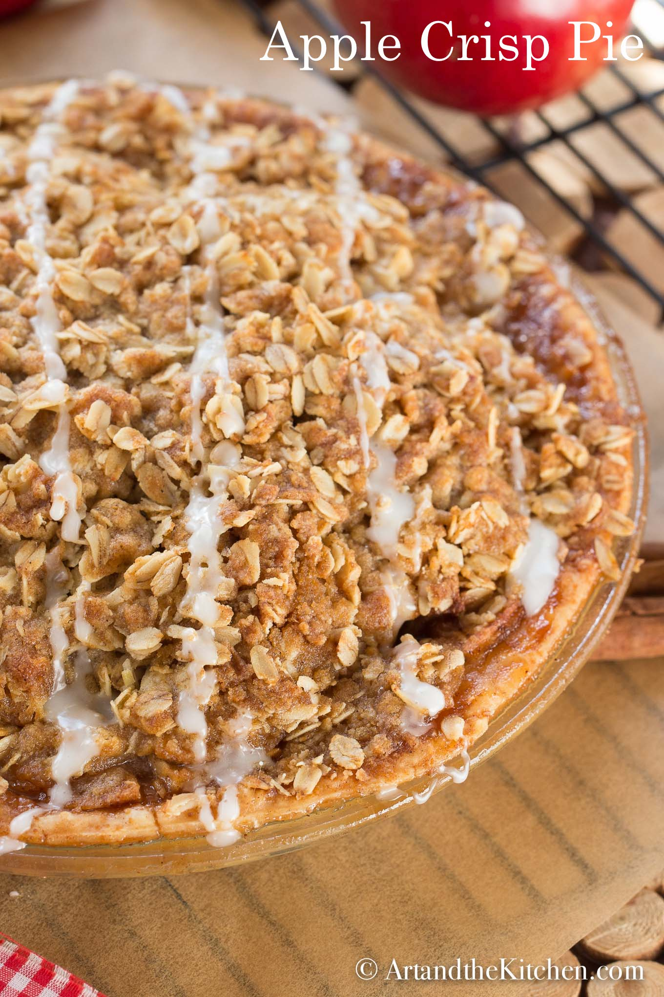 Apple Crisp Pie | Art and the Kitchen