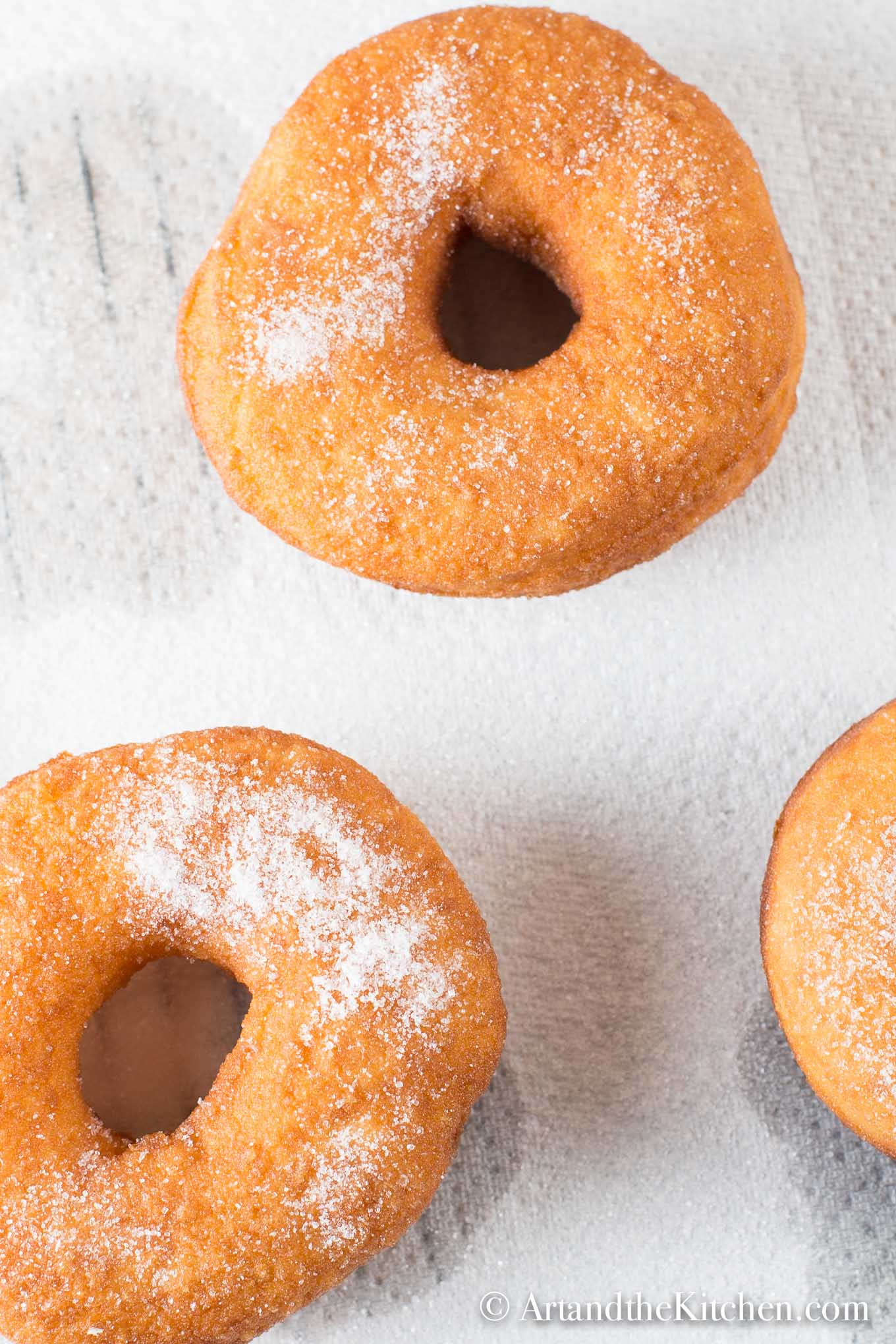 Easy Bread Machine Donuts