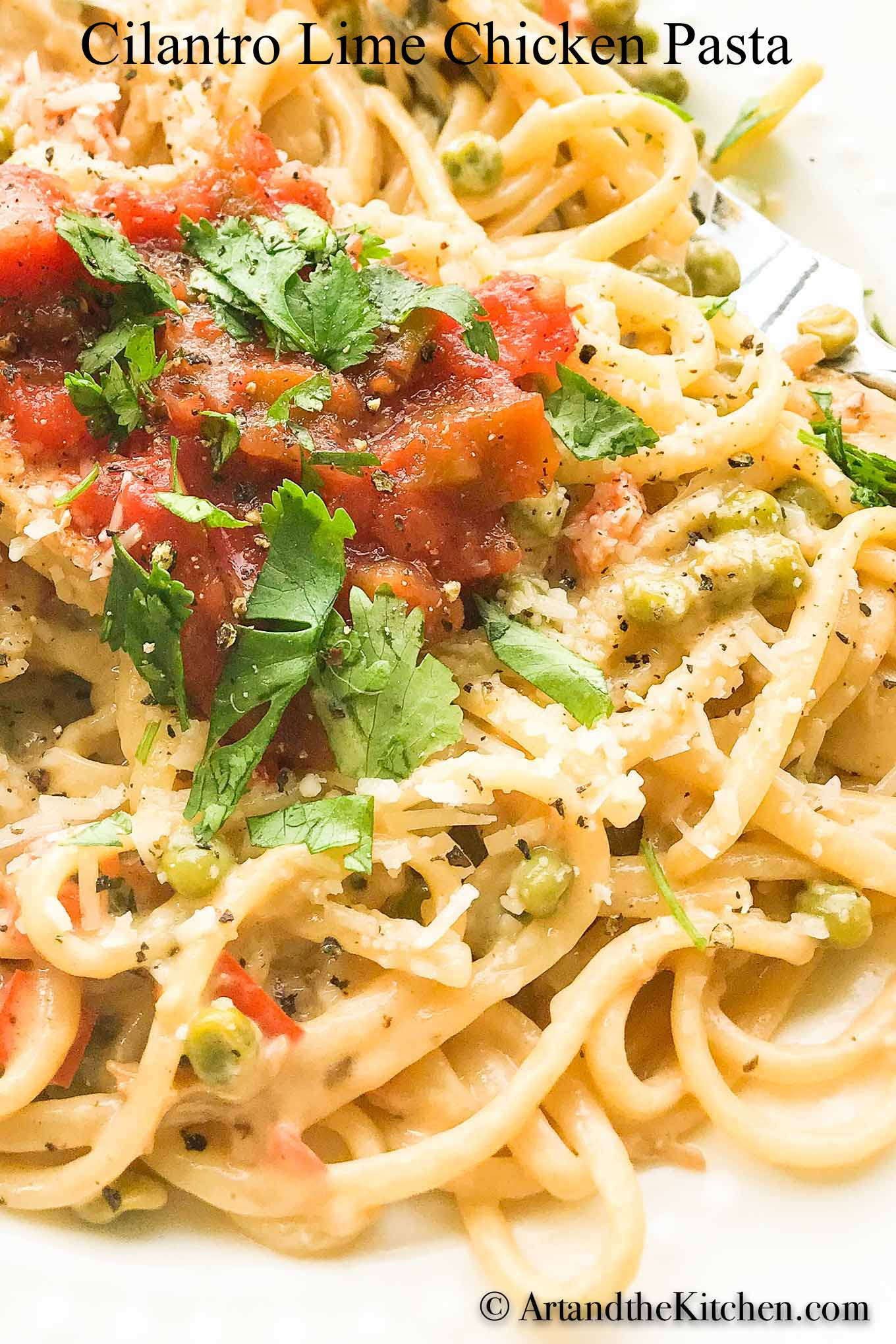 Cilantro Lime Chicken Pasta