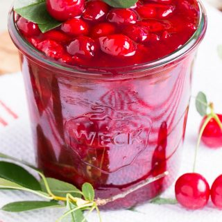 Easy Sour Cherry Sauce