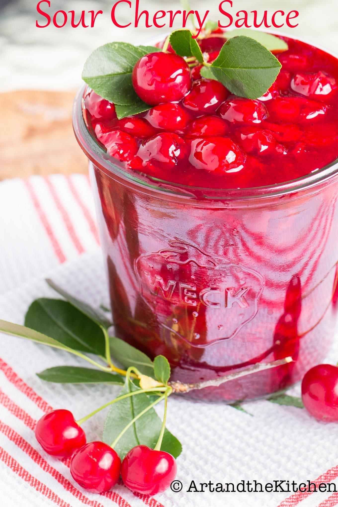 Easy Sour Cherry Sauce