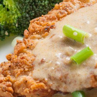 Crispy Pork Schnitzel