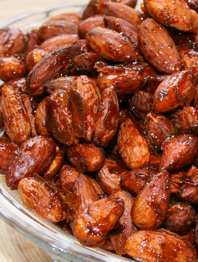 Roasted Spiced Almonds
