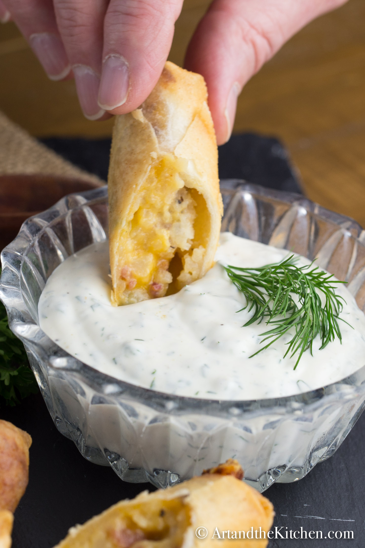 Homemade Ranch Dip Recipe